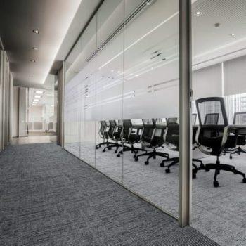 tepisi i tekstilne podne obloge u uredskom prostoru